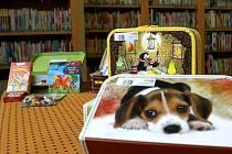 """Nejen knížky, ale také hračky, cédéčka nebo společenské hry najdou děti v """"kouzelných kufřících"""", které si mohou půjčit v některých pobočkách Knihovny města Ostravy."""