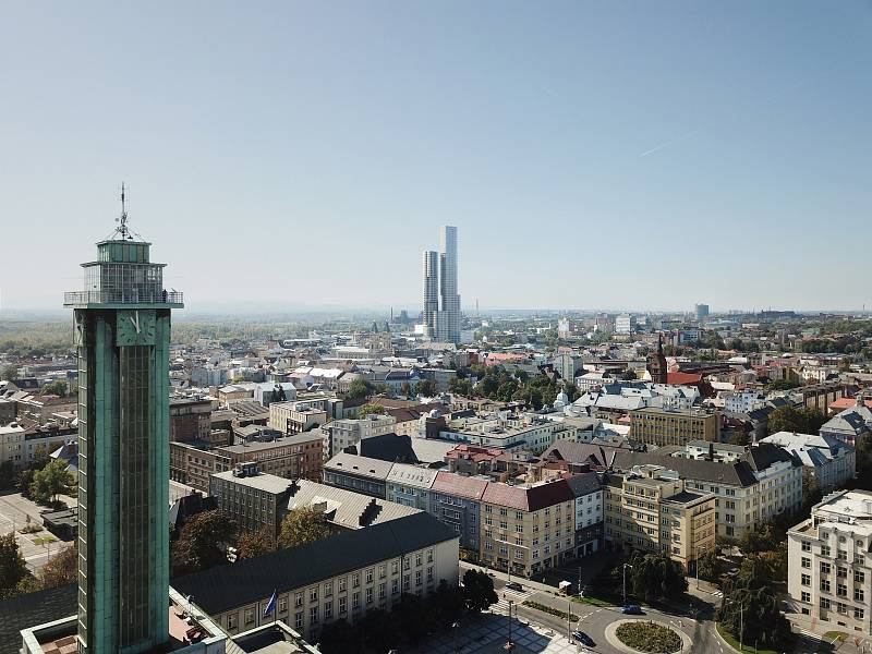 Ostrava Tower - nadhled