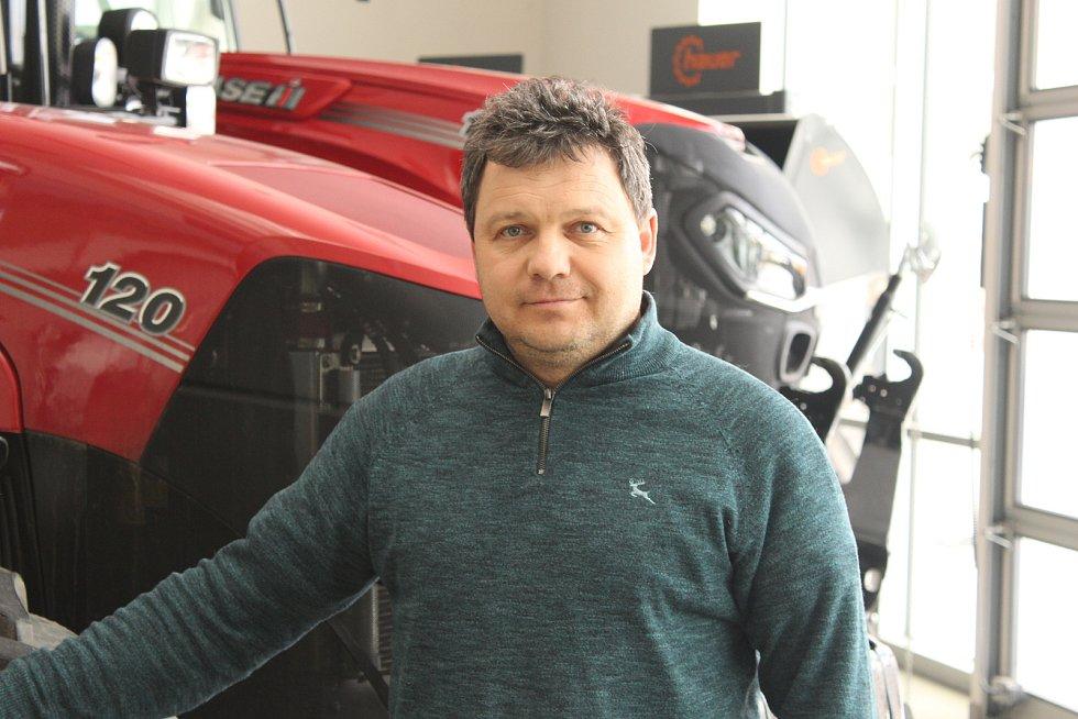 Jednatel firmy BV Technika Jiří Vozník