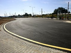 Dostavbu terminálu Dubina provázely problémy s podložím.