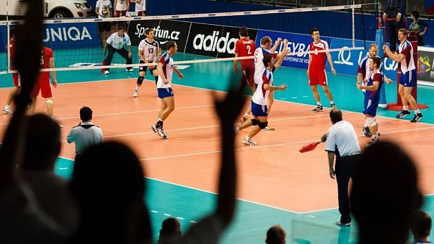 Kvalifikační turnaj o postup na mistrovství Evropy volejbalistů, Česká republika – Chorvatsko