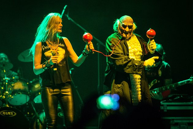 Koncert skupiny Pražský výběr na hudebním festivalu Moravské hrady vHradci nad Moravicí 19.srpna 2016.