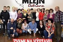 Vernisáž Ateliéru Mlejn Ostrava