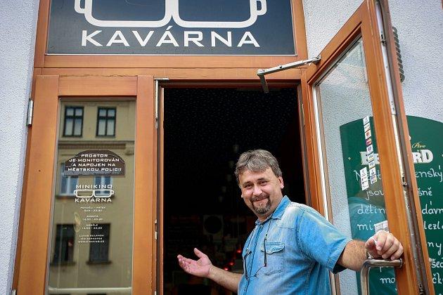 Zdeněk Pavlíček, nový vedoucí Minikina v Ostravě.