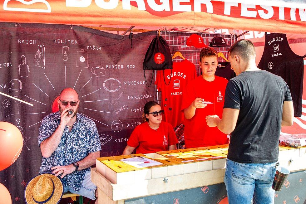 Burger festival v Ostravě, 12. září 2020.