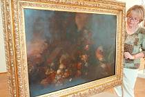 Autorem obrazu je významný holandský malíř Jan van Kessel.