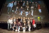 Jedenáctka Baníku podle Deníku na premiéře filmu Baník!!! 2. března 2018 v Ostravě.