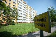 Okolí ubytovny Soiva v Ostravě-Zábřehu.