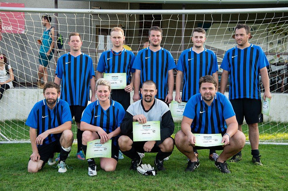 Zaměstnanecká liga Deníku, 22. září 2020 v Palkovicích. Tým Lakum-KTL.