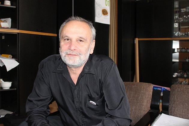 Petr Pavlíček, ředitel Mendlova gymnázia, Opava