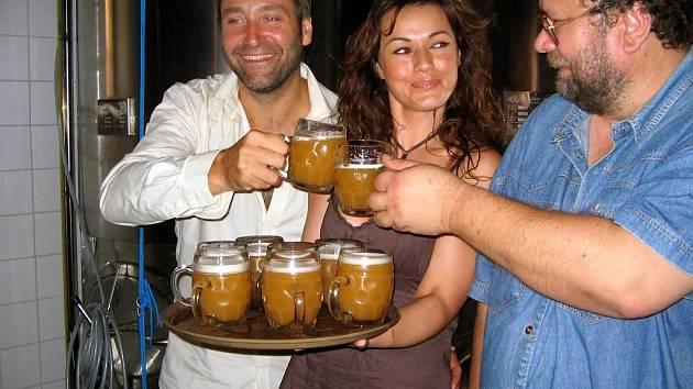 Pohankové pivo uvařili na konci června v zábřežském minipivovaru v Ostravě