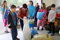 Školáci z Velké Polomi se přihlásili do soutěže přihlásili do soutěže Nakrmte Plastožrouta.