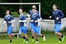 Fotbalisté Baníku Ostrava začali v pátek 19. června v areálu ZŠ J. Šoupala pod vedením nového trenéra Radomíra Korytáře přípravu na novou ligovou sezonu.