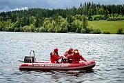Novou turistickou atrakci bude mít od června 2019 vodní nádrž Slezská Harta na Bruntálsku. Turisty po ní bude vozit elektroloď, 20. května 2019 v Leskovci nad Moravicí.