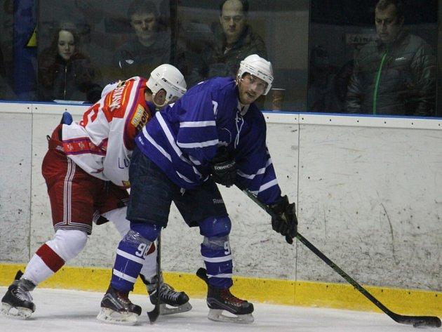Hokejisté Nového Jičína. Ilustrační foto.