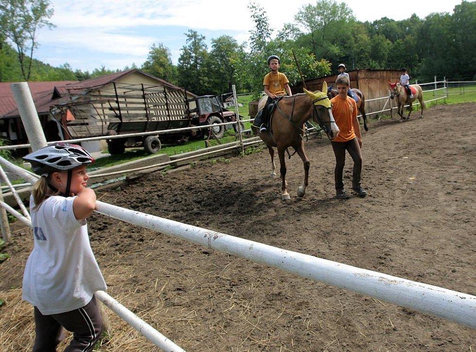 Příměstský koňský tábor v Ostravě