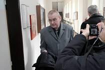 Jaroslav Matějka u krajského soudu v Ostravě