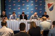 Předsezonní tisková konference FC Baník Ostrava, 10. července 2019 v Ostravě.