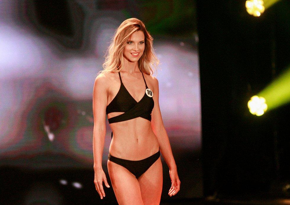 Vyhlášení české Miss 2018 v Gongu.Lucie Korubová