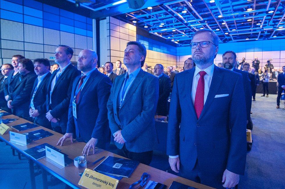 28. kongres ODS v ostravském hotelu Clarion, sobota 13. ledna 2018.