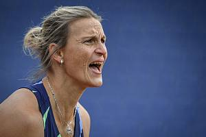 Zlatá tretra, atletický mítink kategorie Continental Tour - Gold, 19. května 2021 v Ostravě. Barbora Špotáková(CZE), oštěp ženy.