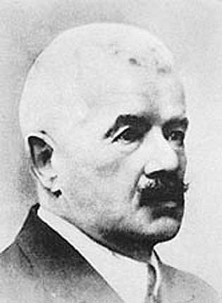 Básník Petr Bezruč.