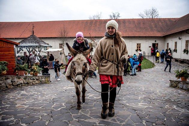 Vánoce na Slezskoostravském hradě, 15.prosince 2018vOstravě.