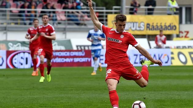 Fotbalový útočník Zbrojovky Brno Antonín Růsek do Baníku Ostrava nepřestoupí.