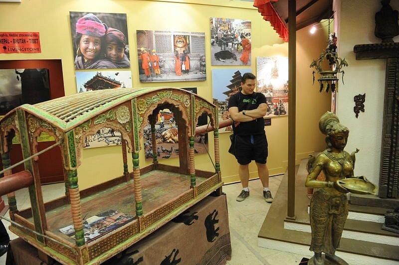 Milovníci mýtů, cestování a filozofie si přijdou na své na unikátní výstavě Šangri-la. Návštěvníkům nabídne pohled do zemí jako je Tibet, Nepál, Bhútán a Indie.