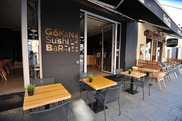 Gokana Sushi bar.
