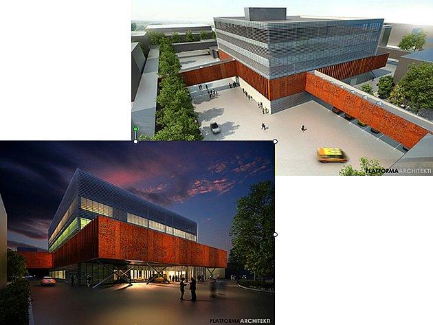 Budoucí centrum operačních oborů na Fifejdách.