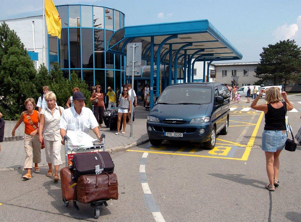 Ilustrační foto z mošnovského letiště