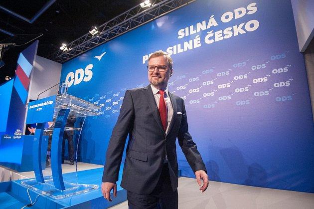 28. kongres ODS vostravském hotelu Clarion, sobota 13.ledna 2018.Petr Fiala byl zvolen předsedou ODS.