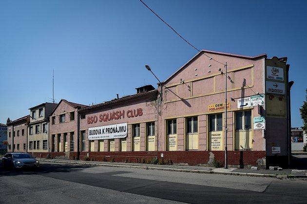 BSO squash club na Cihelní ulici vOstravě, 15.srpna 2019.