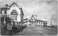 Někdejší podoba Sokolovny, potažmo multifunkční haly, ve Svinově.