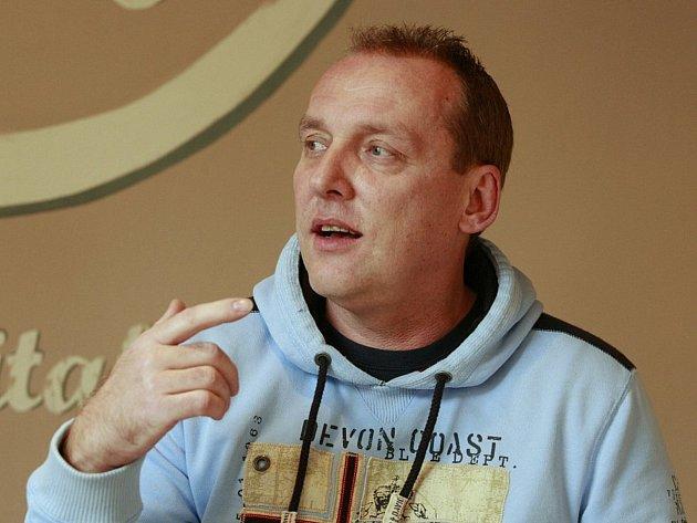 Bývalý fotbalový útočník ostravského Baníku a majitel společnosti D-Sport Zbyněk Ollender.