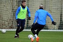 Fotbalisté Baníku Ostrava se v pondělí 30. listopadu vrátili po desetidenní karanténě do společného tréninkového procesu. Foto: FC Baník Ostrava