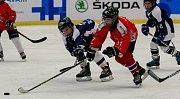 Olympijský festival u Ostravar arény.Utkání malých hokejistů Poruby a Vítkovic