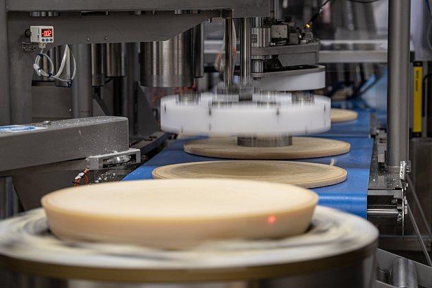 Vsídle společnosti Brazzale, je také ibalírna sýru Gran Moravia, 13.srpna 2021vZanè vprovincii Vicenza, Benátsko, Itálie.
