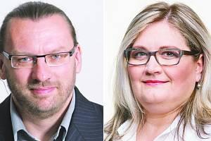 Lubomír Volný a Zuzana Ožanová.