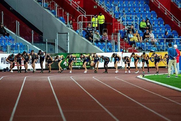 Zlatá tretra Ostrava - 59.ročník atletického mítinku proběhl 8.září 2020.