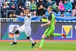 Utkání 25. kola první fotbalové ligy: FC Baník Ostrava - FK Mladá Boleslav, 16. března 2019 v Ostravě. Na snímku (vlevo) Dame Diop.
