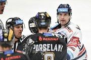 26. kolo hokejové extraligy: HC Vítkovice Ridera - HC Litvínov, 9. prosince 2018 v Ostravě. Na snímku (vpravo) Rostislav Olesz.