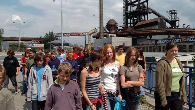 Exkurze ve vítkovické Dolní oblasti. Ilustrační foto