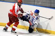 Z utkání vítkovické hokejové juniorky