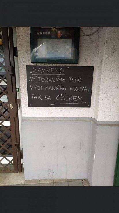Vtipy zaslaný čtenářem Deníku.