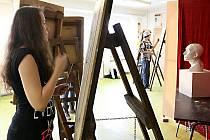 Talentové zkoušky v Ave artu - soukromé Střední umělecké škole v Ostravě.