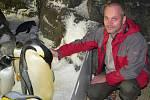 Ředitel Zoologické zahrady Ostrava Petr Čolas loni při návštěvě Sea World San Diego.