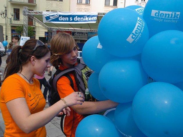 Den s Deníkem na Kuřím rynku v Ostravě