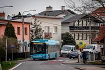 Ostravská městská část Hošťálkovice v čase v čase koronaviru, 31. března 2020.
